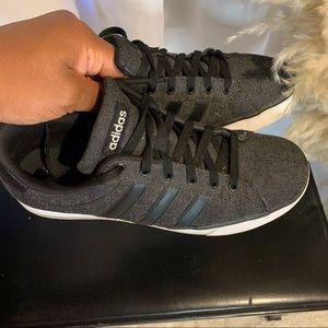 Adidas Denim Grey and Black Shoes